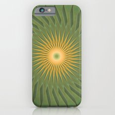 Green Mandala iPhone 6s Slim Case