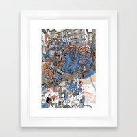 EUROPEAN JOURNAL #2 Framed Art Print