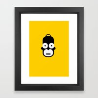 homer Framed Art Print