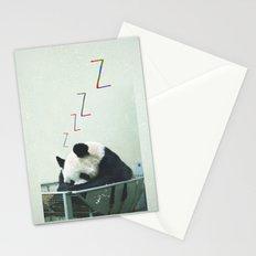 Sleepy Panda Stationery Cards
