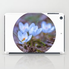 blue Crocus iPad Case