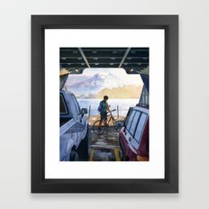 Puget Sound Framed Art Print