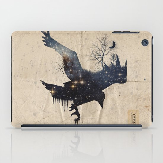 Space Raven iPad Case