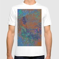 Natural Color Mens Fitted Tee White SMALL