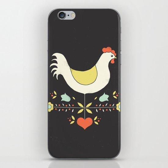 Folk Chicken iPhone & iPod Skin