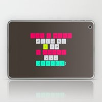 Don't mess with I am a smart device! Laptop & iPad Skin