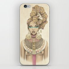 K of Clubs iPhone & iPod Skin