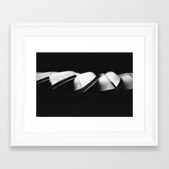 Row Boats 2 Framed Art Print