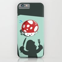 iPhone & iPod Case featuring Oh no! It's Mario! by Manolibera