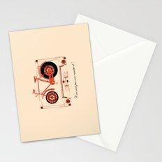 Music Traveler Stationery Cards