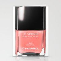Chanel Nail Polish Mistr… Stationery Cards