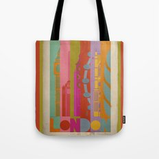 Colours of London Tote Bag