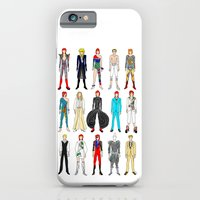 Outfits of Bowie Fashion on White iPhone 6 Slim Case