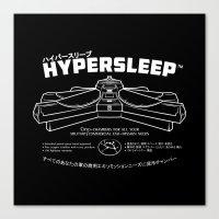 Hypersleep Canvas Print