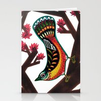 Woodpecker Stationery Cards