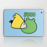 An Angry Venn Diagram (YELLOW) Laptop & iPad Skin