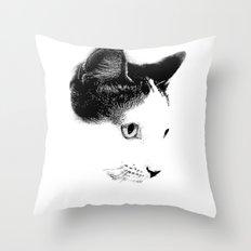 Keiichi Cat Throw Pillow