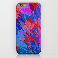exploding coral iPhone 6 Slim Case