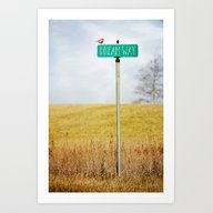 Dream Way Art Print