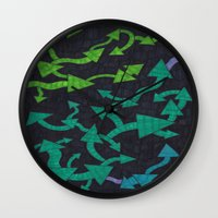 Round-About Wall Clock