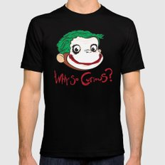 Why So Curious? Mens Fitted Tee Black SMALL