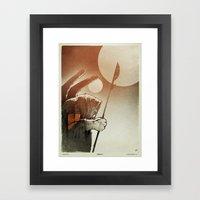 Fallen: I. Framed Art Print
