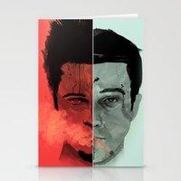 Tyler Durden V. The Narr… Stationery Cards
