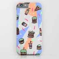 iPhone & iPod Case featuring Atomic Munchies by Estelle F