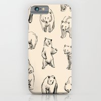 iPhone Cases featuring Bears by leah reena goren