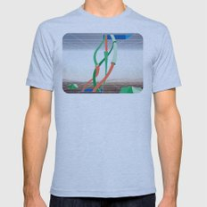Holodeck Mens Fitted Tee Athletic Blue SMALL