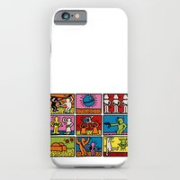 Haring - étoiles W. iPhone 6 Slim Case