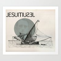 Jesuit Art Print