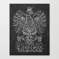 GRZNYC: Coat of Arms Canvas Print