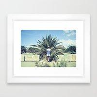 MR. VIC Framed Art Print
