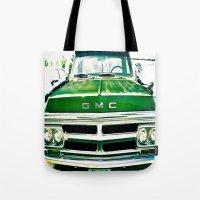 Green GMC Tote Bag