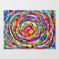 Circle of Love Canvas Print