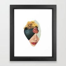 Composizione facciale Framed Art Print
