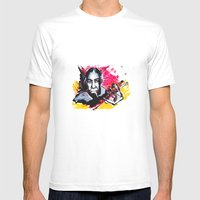 Robert Johnson Mens Fitted Tee White SMALL