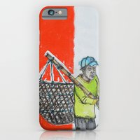 iPhone & iPod Case featuring Seaweed Farmer by Mine is Yours