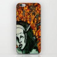 Figures in the dark iPhone & iPod Skin
