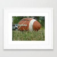 Let's Play Ball Framed Art Print