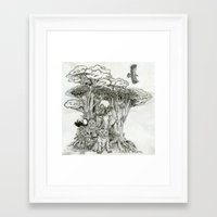 Jungle Friends Framed Art Print