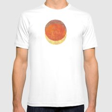 Stratagem White SMALL Mens Fitted Tee