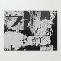 Charcoal's underside Canvas Print