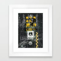Fome Do Cão (Hungry As … Framed Art Print