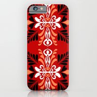 iPhone & iPod Case featuring Feminine Nature by virginia odien