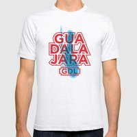 G.D.L. Mens Fitted Tee Ash Grey SMALL