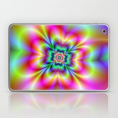 Psychedelic Four Leaf Clover  Laptop & iPad Skin