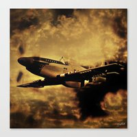 Dixie's Flight In The St… Canvas Print