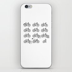 Life Cycle iPhone & iPod Skin